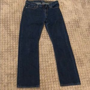 Gap premium straight fit jeans, barely worn